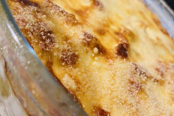 Bacalhau cremoso gratinado (Bacalhau com natas)